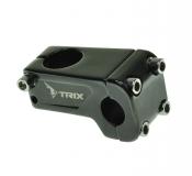 "TRIX, Вынос руля алюм., для BMX, 1-1/8"", 22,2 мм, L - 30 мм ,черный, JB-8695"