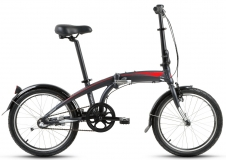 Велосипед 20 FORWARD OMEGA 3.0 11рост черный матовый 2018