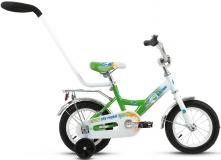 Велосипед 12 ALTAIR ALTAIR CITY BOY 12  2016 белый/зеленый