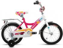 Велосипед 14 ALTAIR ALTAIR CITY GIRL 14  2017 белый/синий