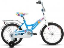 Велосипед 16 ALTAIR ALTAIR CITY GIRL 16  2016 белый/синий