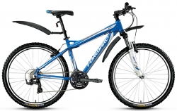 Велосипед 26 FORWARD QUADRO 1.0 19рост синий 2017