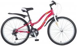 Велосипед 24 Novatrack LADY 2016 красный