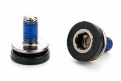 KENLI, Болт вала каретки, под шестигранник M8 x 17 мм, пластиковый пыльник, фиксатор резьбы, KL-B08