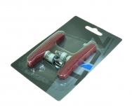 ZEIT, Колодки для тормозов V-brake, Z-611 72 мм, red