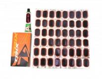 Аптечка, заплатки 48 шт + клей, RS4802
