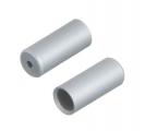 Artek, Наконечник оплетки переключения алюм. 5,1 мм серебр.