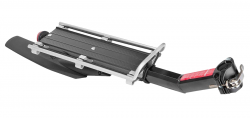 """TRIX, Багажник консольный, алюминиевый 20""""-29"""", с крылом, креп. эксцентрик, 603-10"""