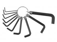 KENLI, Ключи шестигранные в наборе на кольце1.5/2/2.5/3/4/5/6/8/10мм KL-9701