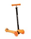 Самокат детский TRIX ELEOS, четырехколесный, 2x120 мм, зад 2x80 мм, max 60 кг, алюм/пласт, оранжевый