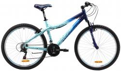 Велосипед 26 MAVERICK Dancer 1.0 19,5 рост 2017 черный/синий