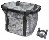 Корзина-сумка на руль KAI WEI, с быстросъемным креплением KW-807