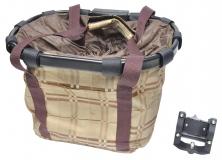Корзина-сумка на руль KAI WEI, с быстросъемным креплением KW-807-1