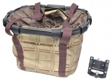 Корзина-сумка на руль KAI WEI,с быстросъемным креплением KW-807-1