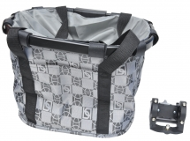 Корзина-сумка на руль KAI WEI, с быстросъемным креплением KW-807-4