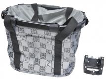 Корзина-сумка на руль KAI WEI,с быстросъемным креплением KW-807-4