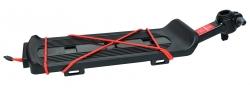 TRIX, Багажник консольный, крепление на подседельный штырь эксцентриком, алюминиевый-пластик KW-618-