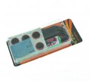 Аптечка TRIX, клей, заплатки, наждачка, монтажки, RP-1348