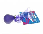Клаксон пластик, резиновая груша, XN-8-18 фиолетовый