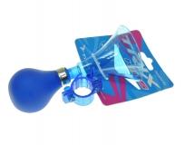 Клаксон пластик, резиновая груша, XN-8-20 синий