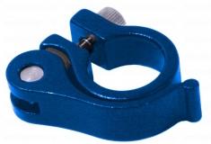 Эксцентрик подседельный с хомутом  ø 25.4 mm (Материал:алюм.;Цвет:blue) AS-01+SQ-139