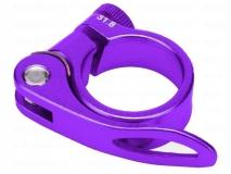 Эксцентрик подседельный с хомутом  ø 31.8 mm (Материал:алюм.;Цвет:violet.) AS-17+SQ-133