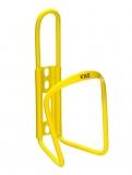 Флягодержатель KMS алюминиевый, желтый
