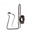 TRIX, Флягодержатель алюминиевый, серебристый, крепление на руль, H-C32