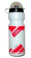 Vinca Sport, Фляга с защитой от пыли 750мл, белая с красным, VSB 21 red