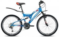 Велосипед 24 FORWARD CRUNCHER 2.0 2017 синий