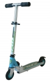 Самокат городской Foxx Smiles детск., сталь, PVC колеса 100 мм, голубой
