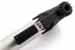 Велонасос GIYO GP-91 mini pump алюминиевый, с манометром, Т-обр.ручка