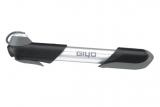 GIYO, Велонасос GP-04А mini pump компактный, ручной, хром
