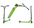 Самокат трюковый TRIX GRASSHOPPER, зеленый, Колеса: 2 х 100 мм, 2019