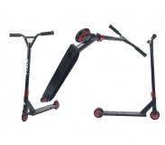 Самокат трюковый TRIX GRASSHOPPER, черно-красный, Колеса: 2 х 100 мм, 2019