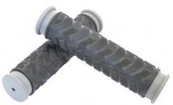 Ручки руля резиновые черные, 125 мм, Joykie JK-1962
