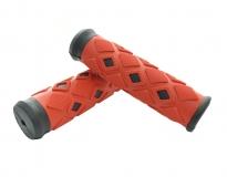 SAIGUAN, Ручки руля SR-33 120 мм, красные
