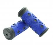 SAIGUAN, Ручки руля SR-39 80 мм, синие