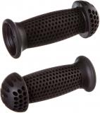 """Грипсы STG, GR112 100 мм, черные, """"грибочки"""", для самоката и велосипеда"""