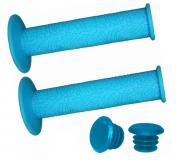 Vinca Sport, Грипсы 120 мм, голубые, H-G 60 light blue