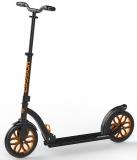 Самокат HOGGER CRUISER 250, черно-оранжевый, колеса: 2 х 250 мм, SKL-043, 2019