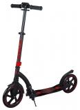 Самокат HOGGER NEOS, черно-красный, колеса: 2 х 230 мм, SKL-040, 2019