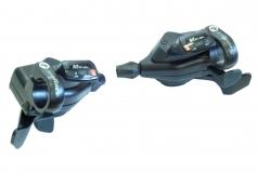 SunRace, К-т манеток DL-M53 3/8ск черный