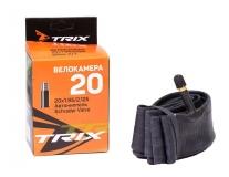 TRIX, Камера 20*1,95/2,125 автониппель AV, бутил