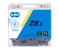 KMC, Цепь Z-8.1, 7-8 скоростей, 116 звеньев, Gray/Gray