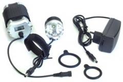 Фара велосипедная JING YI, JY-8010-1, 1000 lum, зарядное устройство