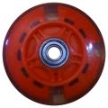 Vinca Sport, Колесо 75 мм для самокатов, ABEC 7, светящееся