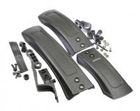 """Крылья TRIX, комплект 24-27""""+, пластиковые, ширина 85 мм, черные, SF-272"""