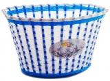 Корзинка детская на руль 20-24, белая, 270x200x170мм, Vinca Sport, P04 Lavender