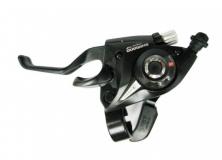 Манетка ST-EF51 3 скоростей, черный, китай